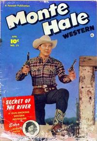 Cover Thumbnail for Monte Hale Western (Fawcett, 1948 series) #71