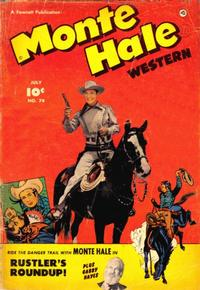 Cover Thumbnail for Monte Hale Western (Fawcett, 1948 series) #74