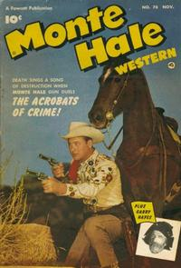Cover Thumbnail for Monte Hale Western (Fawcett, 1948 series) #78