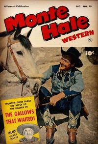 Cover Thumbnail for Monte Hale Western (Fawcett, 1948 series) #79