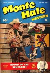 Cover Thumbnail for Monte Hale Western (Fawcett, 1948 series) #80