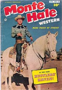 Cover Thumbnail for Monte Hale Western (Fawcett, 1948 series) #81