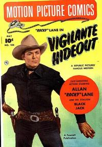 Cover Thumbnail for Motion Picture Comics (Fawcett, 1950 series) #104
