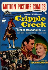 Cover Thumbnail for Motion Picture Comics (Fawcett, 1950 series) #114