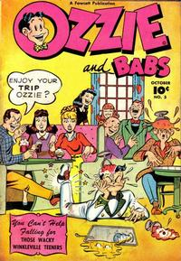 Cover Thumbnail for Ozzie and Babs (Fawcett, 1947 series) #5