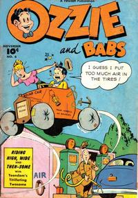Cover Thumbnail for Ozzie and Babs (Fawcett, 1947 series) #6