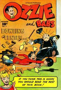 Cover Thumbnail for Ozzie and Babs (Fawcett, 1947 series) #7