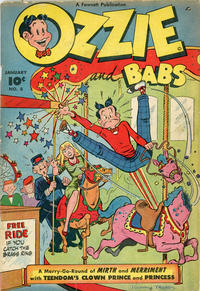Cover Thumbnail for Ozzie and Babs (Fawcett, 1947 series) #8