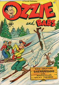 Cover Thumbnail for Ozzie and Babs (Fawcett, 1947 series) #11