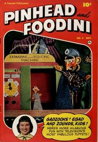 Cover Thumbnail for Pinhead and Foodini (Fawcett, 1951 series) #2