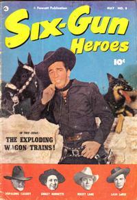 Cover Thumbnail for Six-Gun Heroes (Fawcett, 1950 series) #8