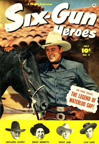 Cover Thumbnail for Six-Gun Heroes (Fawcett, 1950 series) #9