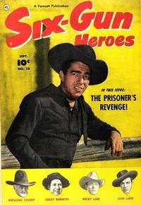 Cover Thumbnail for Six-Gun Heroes (Fawcett, 1950 series) #10
