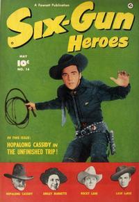 Cover Thumbnail for Six-Gun Heroes (Fawcett, 1950 series) #14