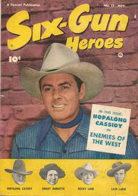 Cover Thumbnail for Six-Gun Heroes (Fawcett, 1950 series) #17