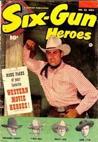 Cover Thumbnail for Six-Gun Heroes (Fawcett, 1950 series) #23