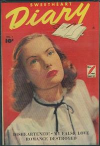 Cover Thumbnail for Sweetheart Diary (Fawcett, 1949 series) #1