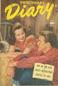 Cover Thumbnail for Sweetheart Diary (Fawcett, 1949 series) #8