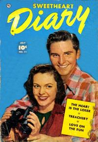 Cover Thumbnail for Sweetheart Diary (Fawcett, 1949 series) #11