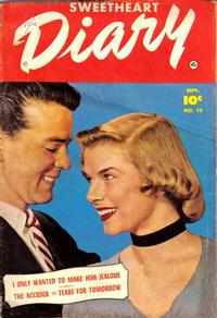 Cover Thumbnail for Sweetheart Diary (Fawcett, 1949 series) #12