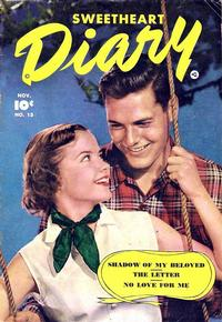 Cover Thumbnail for Sweetheart Diary (Fawcett, 1949 series) #13
