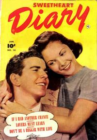 Cover Thumbnail for Sweetheart Diary (Fawcett, 1949 series) #14