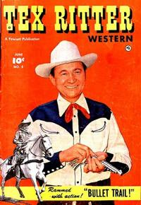 Cover Thumbnail for Tex Ritter Western (Fawcett, 1950 series) #5
