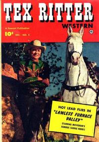 Cover Thumbnail for Tex Ritter Western (Fawcett, 1950 series) #8