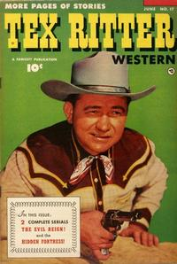 Cover Thumbnail for Tex Ritter Western (Fawcett, 1950 series) #17
