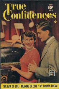 Cover Thumbnail for True Confidences (Fawcett, 1949 series) #4
