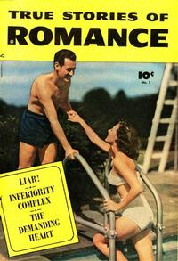 Cover Thumbnail for True Stories of Romance (Fawcett, 1950 series) #1