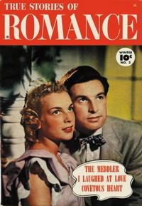 Cover Thumbnail for True Stories of Romance (Fawcett, 1950 series) #2
