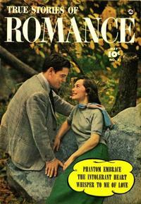 Cover Thumbnail for True Stories of Romance (Fawcett, 1950 series) #3