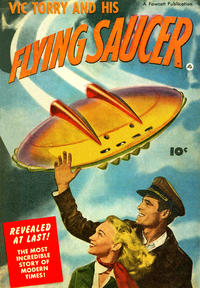 Cover Thumbnail for Vic Torry and His Flying Saucer (Fawcett, 1950 series)
