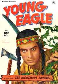 Cover Thumbnail for Young Eagle (Fawcett, 1950 series) #6