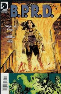 Cover Thumbnail for B.P.R.D., Plague of Frogs (Dark Horse, 2004 series) #4