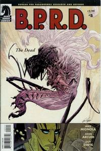 Cover Thumbnail for B.P.R.D., The Dead (Dark Horse, 2004 series) #5 (17)