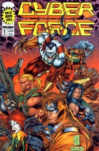 Cover Thumbnail for Cyberforce (Image, 1993 series) #1 [Direct]