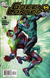 Cover Thumbnail for Green Lantern (DC, 2005 series) #3 [Direct Sales]