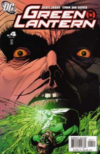 Cover Thumbnail for Green Lantern (DC, 2005 series) #4 [Direct Sales]