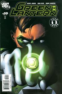 Cover Thumbnail for Green Lantern (DC, 2005 series) #10 [Direct Sales]