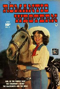 Cover Thumbnail for Romantic Western (Fawcett, 1949 series) #3