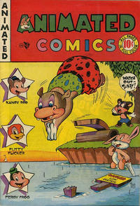 Cover Thumbnail for Animated Comics (EC, 1946 series)