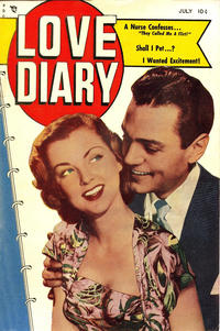 Cover Thumbnail for Love Diary (Orbit-Wanted, 1949 series) #1
