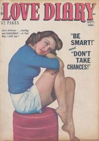 Cover Thumbnail for Love Diary (Orbit-Wanted, 1949 series) #8
