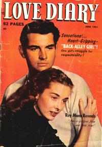 Cover Thumbnail for Love Diary (Orbit-Wanted, 1949 series) #17