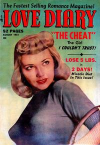 Cover Thumbnail for Love Diary (Orbit-Wanted, 1949 series) #19