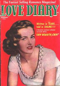 Cover for Love Diary (Orbit-Wanted, 1949 series) #24