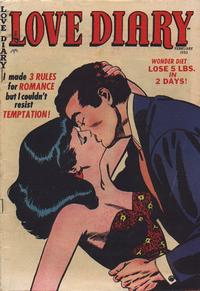 Cover Thumbnail for Love Diary (Orbit-Wanted, 1949 series) #33