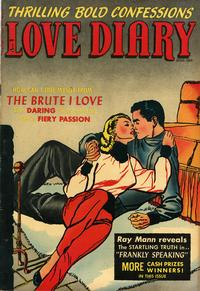 Cover for Love Diary (Orbit-Wanted, 1949 series) #34